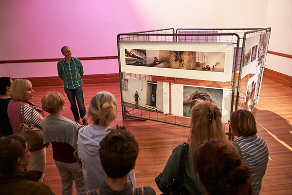 We had some lively discussion regarding various images in the Exhibition.